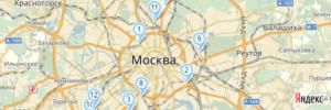 карта сервисов ODOmaster.ru